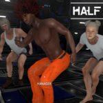 【4人実況】即死トラップだらけの施設から脱出を試みる男たち【HALF DEAD2】